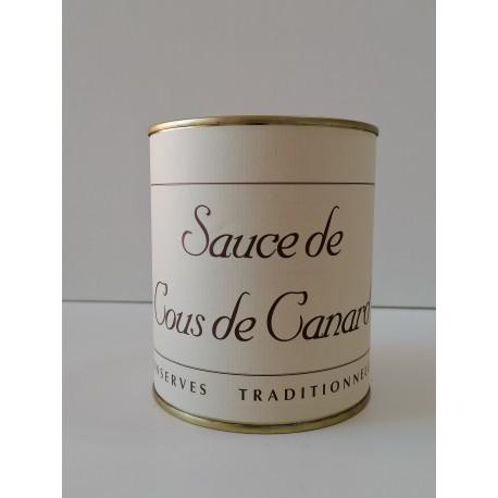 Sauce de cous canard 2 parts