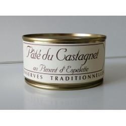 Pâté du Castagnet au piment d'Espelette 190g