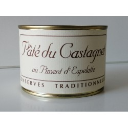 Pâté du Castagnet au piment d'Espelette 250g